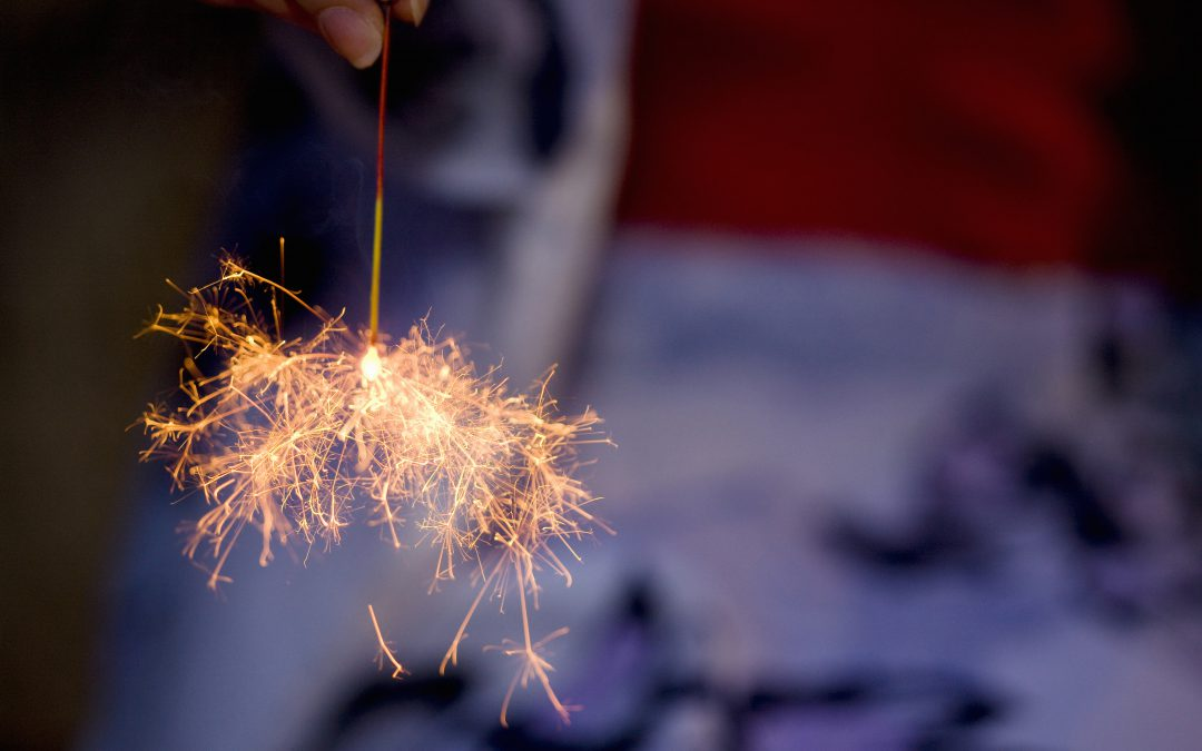 Summertime in Maine: Fireworks for 4th of July