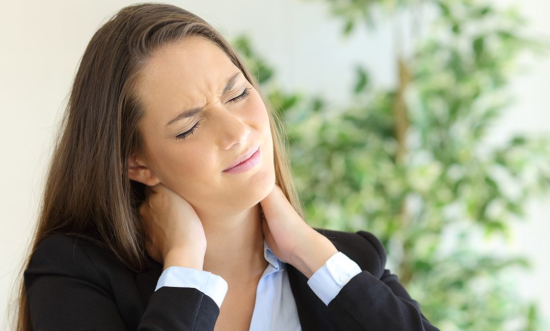 Neck pain at work?