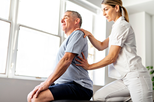 Spinal stenosis exercises for the elderly in Newport, ME