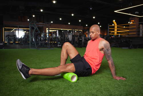 What can you do to treat leg pain behind the knee?