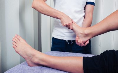Two treatment options for ankle pain after running